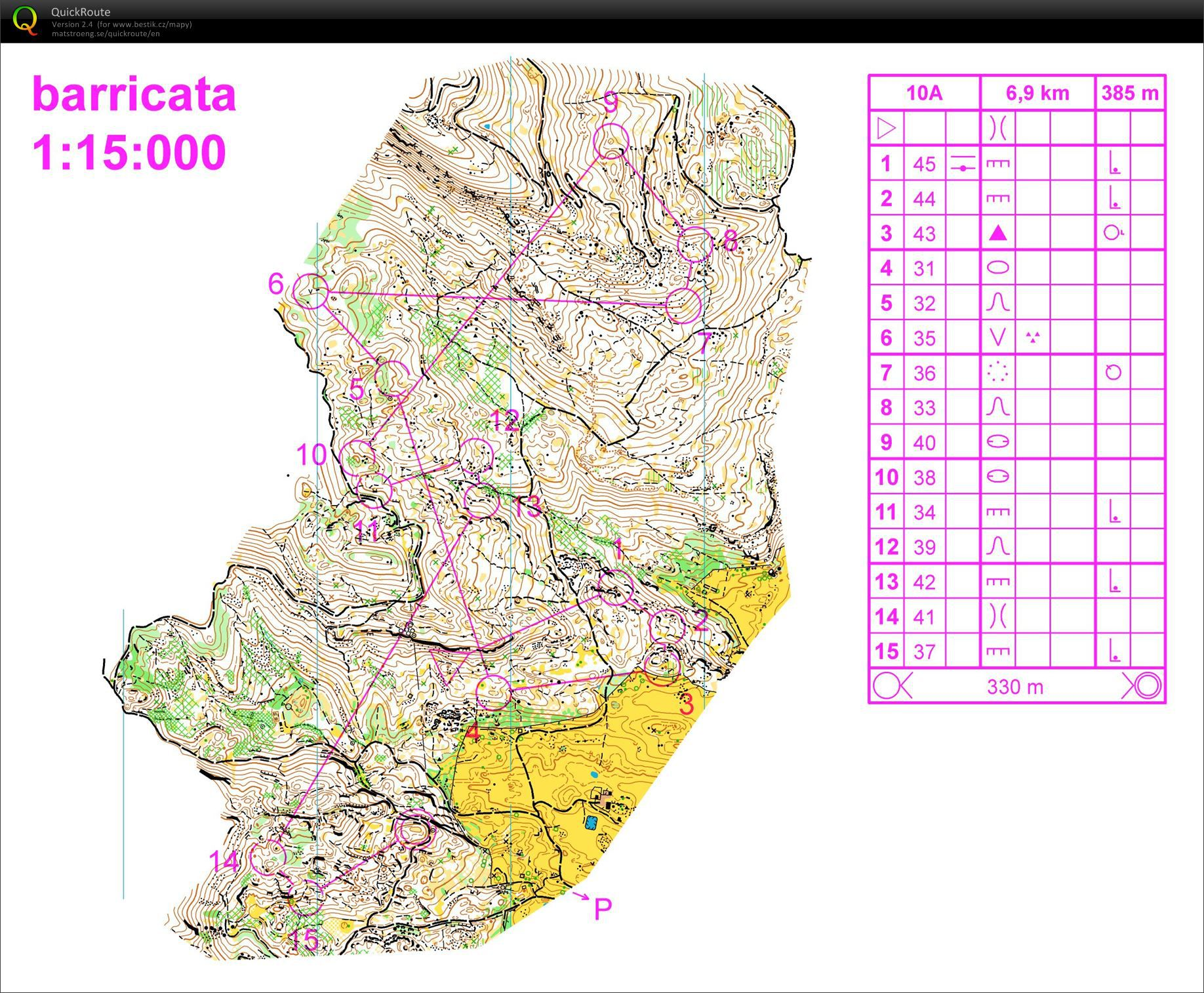 WOC2014 long training (31.08.2013)