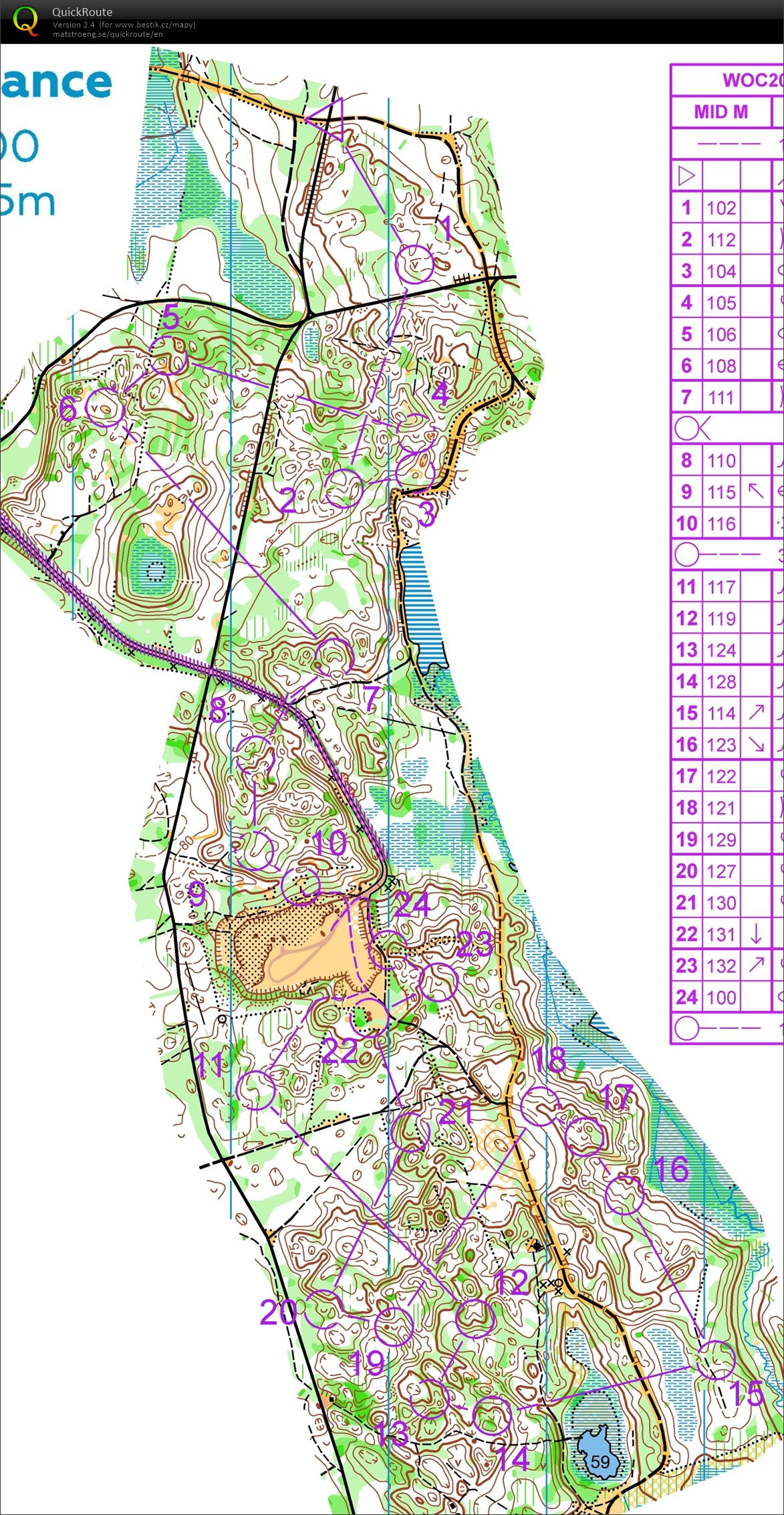WOC 2017 middle (06.07.2017)