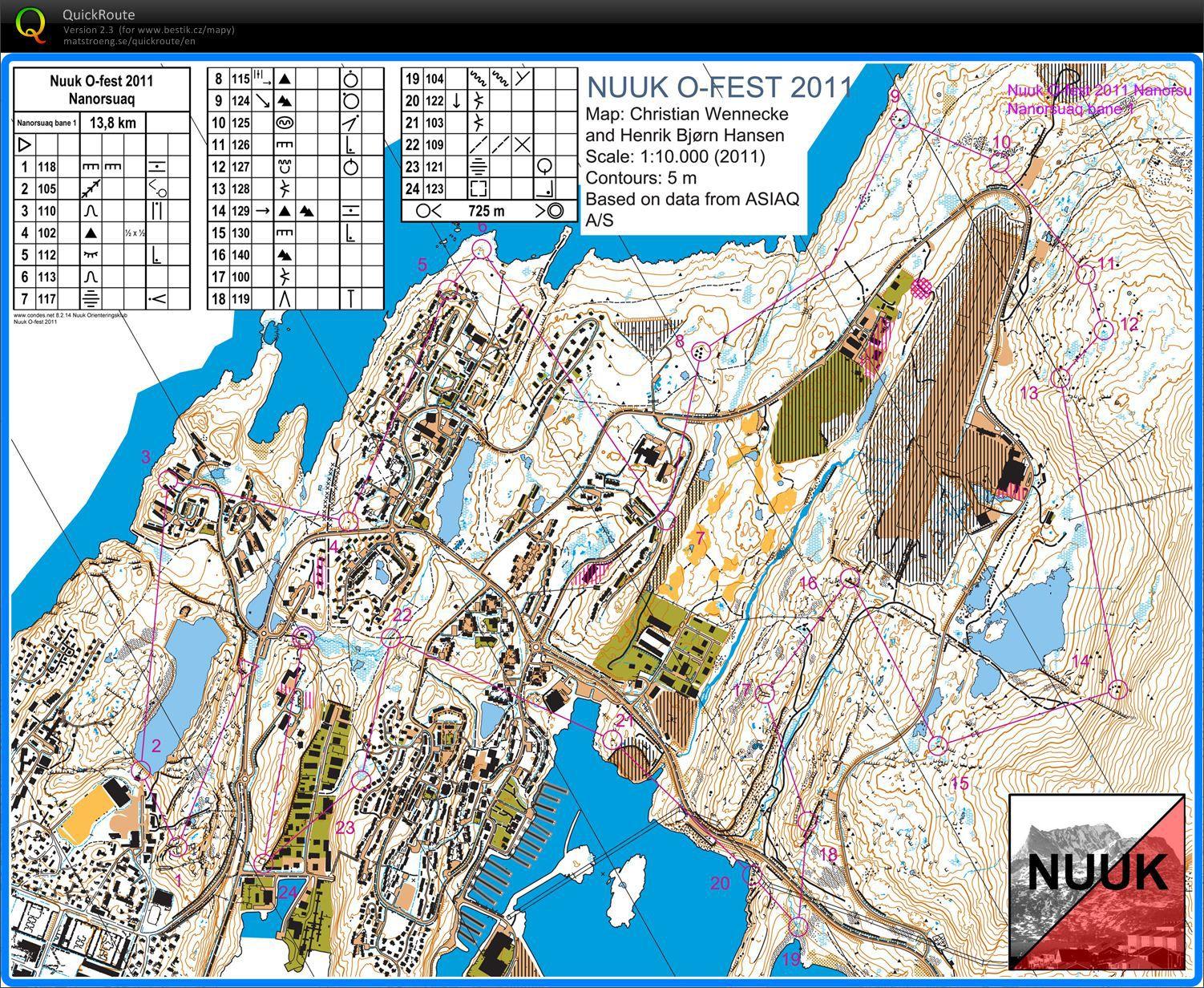 Nuuk Map | Maps Nuuk Map